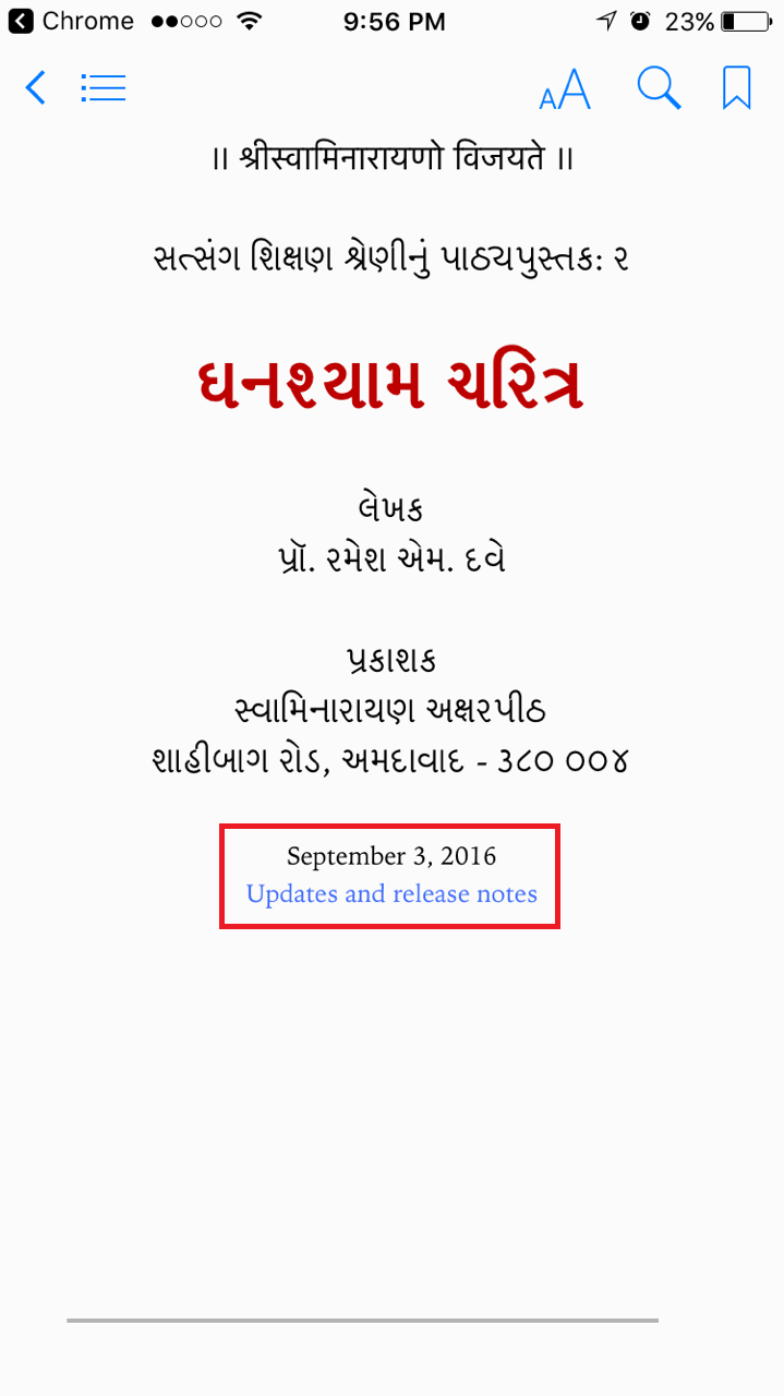 Vachanamrut Epub Download